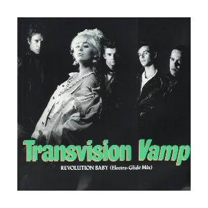 Transvision Vamp: Revolution Baby - Cover