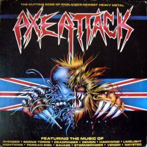 Axe Attack - Cover
