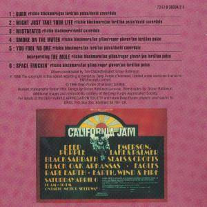 Deep Purple: California Jamming - Live 1974 (CD) - Bild 2