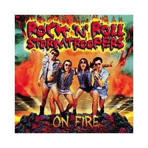Cover - Rock'n'Roll Stormtroopers: On Fire
