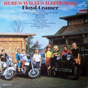 Cover - Floyd Cramer: Here's What's Happening!