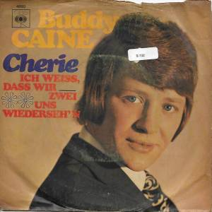 Cover - Buddy Caine: Cherie
