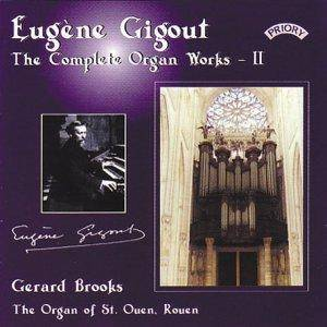 Cover - Eugène Gigout: Complete Organ Works - II, The