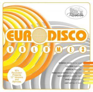 Cover - M & H.Band: 80's Revolution - Euro Disco Vol. 3