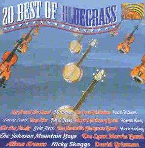Cover - Alison Krauss: 20 Best Of Bluegrass