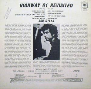 Bob Dylan: Highway 61 Revisited (LP) - Bild 2