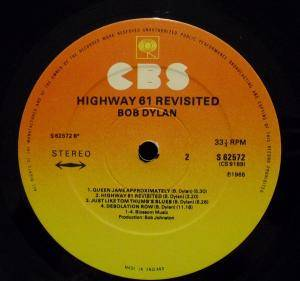 Bob Dylan: Highway 61 Revisited (LP) - Bild 4