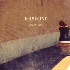 Nosound: Afterthoughts - Cover