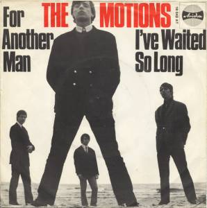 Cover - Motions, The: For Another Man