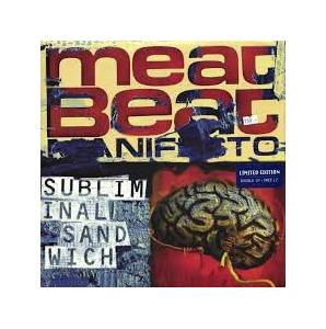 Cover - Meat Beat Manifesto: Subliminal Sandwich