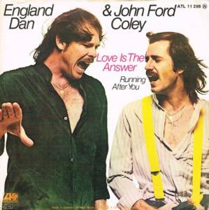 Cover - England Dan & John Ford Coley: Love Is The Answer