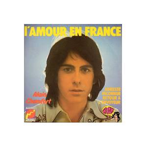 Cover - Alain Chamfort: L'Amour En France