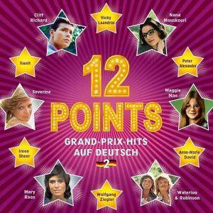 Cover - Isabelle Aubret: 12 Points: Grand-Prix-Hits Auf Deutsch Vol. 2