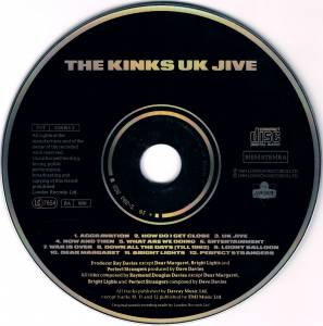 The Kinks: UK Jive (CD) - Bild 3