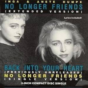Cover - Inga & Anete Humpe: No Longer Friends
