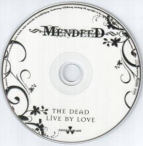 Mendeed: The Dead Live By Love (CD) - Bild 3