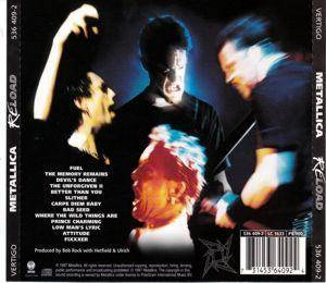 Metallica: Reload (CD) - Bild 3
