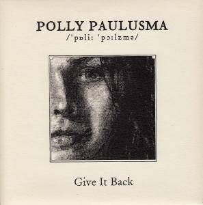 Cover - Polly Paulusma: Give It Back