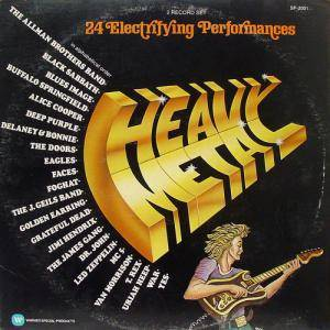 Superstars Of The 70's Volume 2 - Heavy Metal - Cover