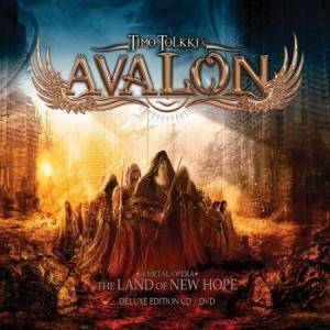 Timo Tolkki's Avalon: Land Of New Hope, The - Cover