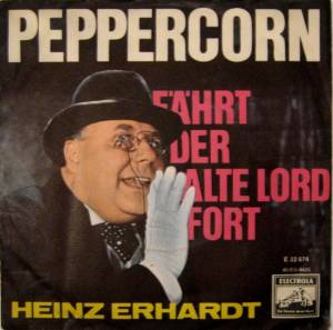 Heinz Erhardt Peppercorn 7 1963