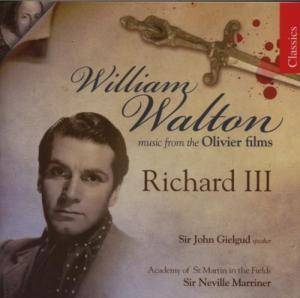 Cover - William Walton: Music From The Olivier Films / Richard III