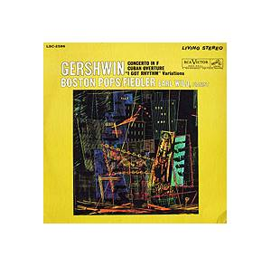 "Cover - George Gershwin: Concerto In F / Cuban Overture / ""I Got The Rhythm"" Variations"