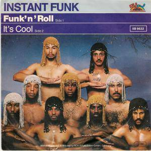 Cover - Instant Funk: Funk`n`roll
