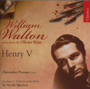 Cover - William Walton: Music From The Olivier Films / Henry V