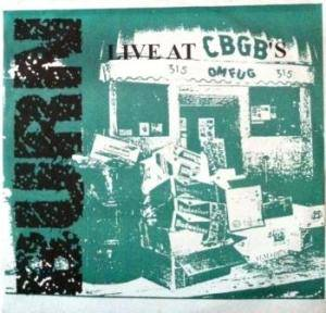 Cover - Burn: Live At Cbgb´s