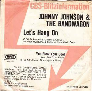 Cover - Johnny Johnson And The Bandwagon: Let's Hang On