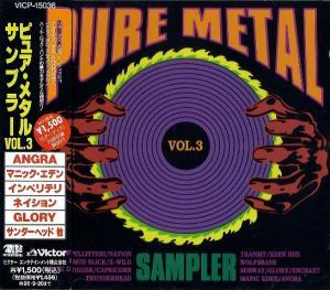 Pure Metal Sampler Vol. 3 - Cover