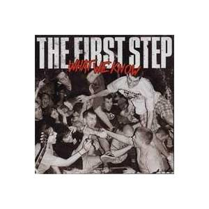 The First Step: What We Know - Cover