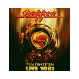 Dokken: From Conception Live 1981 - Cover