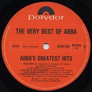 ABBA: The Very Best Of ABBA - ABBA's Greatest Hits (2-LP) - Bild 4
