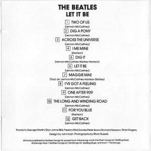 The Beatles: Let It Be (CD) - Bild 2