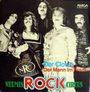 Cover - Neumis Rock Circus: Clown, Der