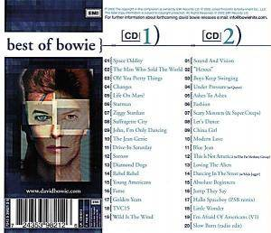 David Bowie: Best Of Bowie (2-CD) - Bild 2