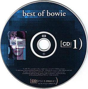 David Bowie: Best Of Bowie (2-CD) - Bild 3