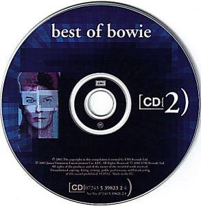 David Bowie: Best Of Bowie (2-CD) - Bild 4