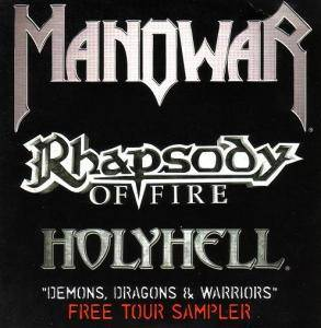 Cover - Rhapsody Of Fire: Demons, Dragons & Warriors - Free Tour Sampler