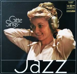 Cover - Gitte: Gitte Sings Jazz