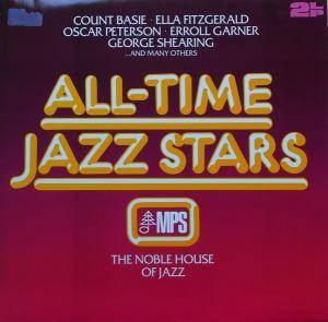 Cover - Rob McConnell & The Boss Brass: All-Time Jazz Stars