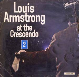 Cover - Louis Armstrong: At The Crescendo 2