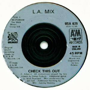 "L.A. Mix: Check This Out (7"") - Bild 2"