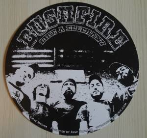 "Bushfire + Hammerlock: Split Single (Split-7"") - Bild 4"