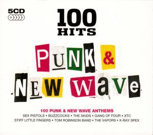 Cover - Vapors, The: 100 Hits Punk & New Wave