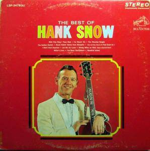 Cover - Hank Snow: Best Of Hank Snow, The