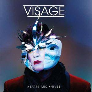 Visage: Hearts And Knives - Cover
