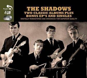 Cover - Shadows, The: Two Classic Albums Plus Bonus EP's And Singles